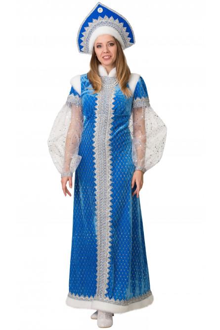 Взрослый костюм Снегурочки