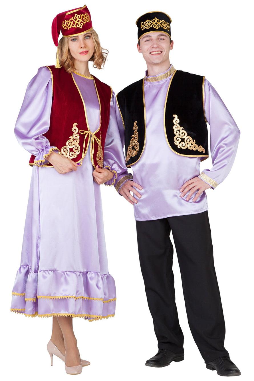 пока татары национальный костюм фото мужской и женский девушку