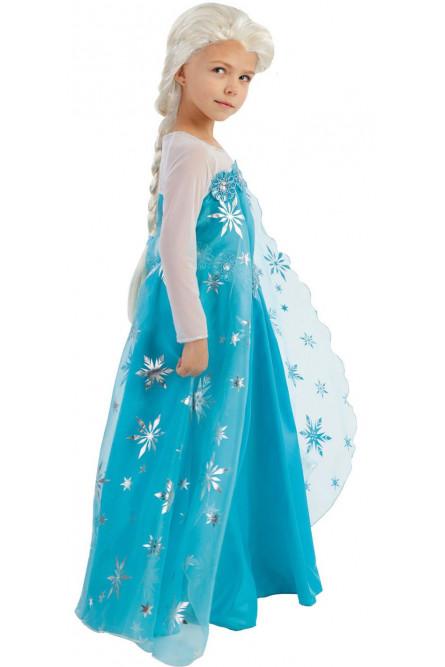 Детский костюм волшебницы Эльзы из Холодного сердца
