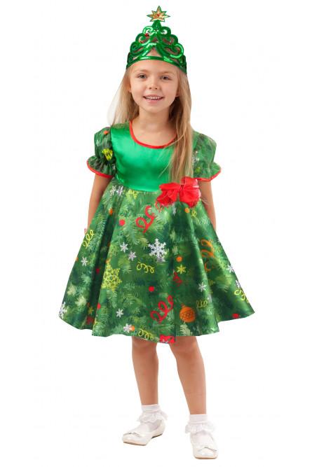 Детский костюм нарядной Елочки