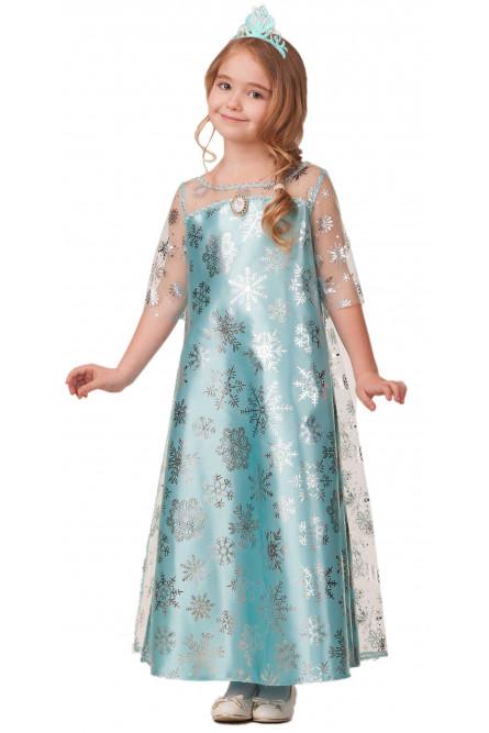 Детский костюм Снежной Эльзы
