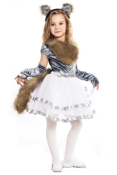 Детский костюм серой Кошечки