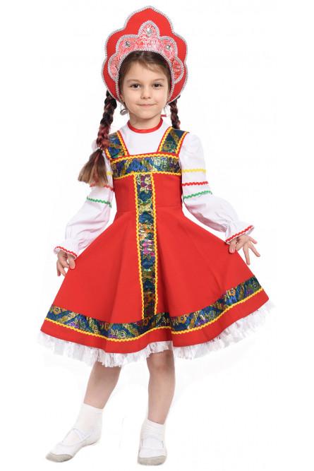 Детский костюм Русской Девочки