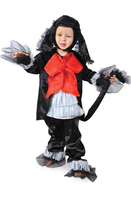 Детский костюм черного Пуделя Артемона из сказки