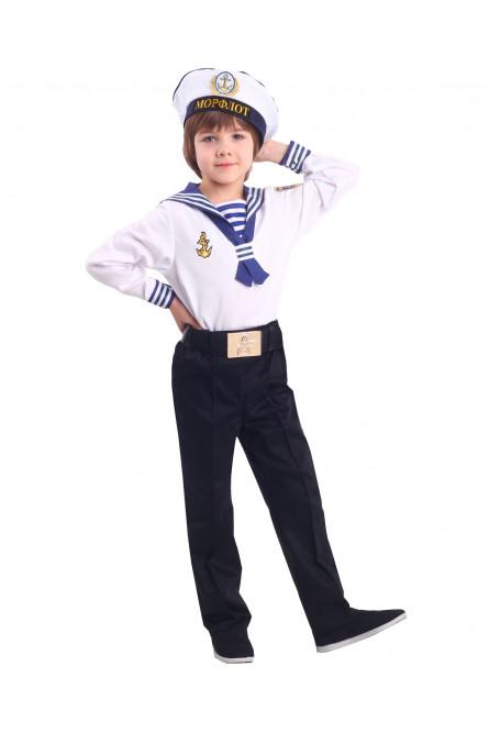 Детский костюм Моряка в бескозырке