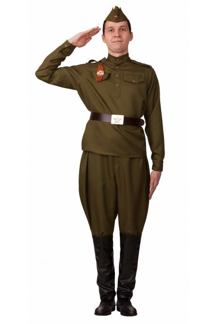 Взрослый костюм Солдата в галифе