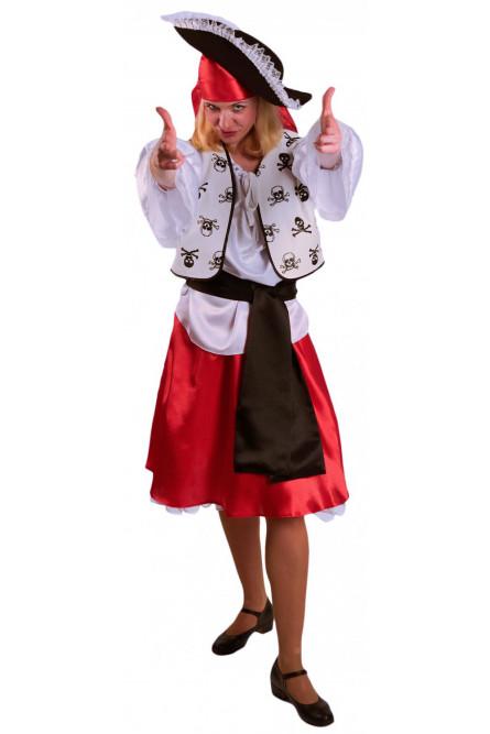 Взрослый костюм Пиратки