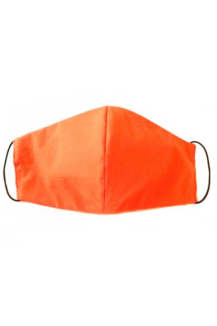 Оранжевая хлопковая защитная маска