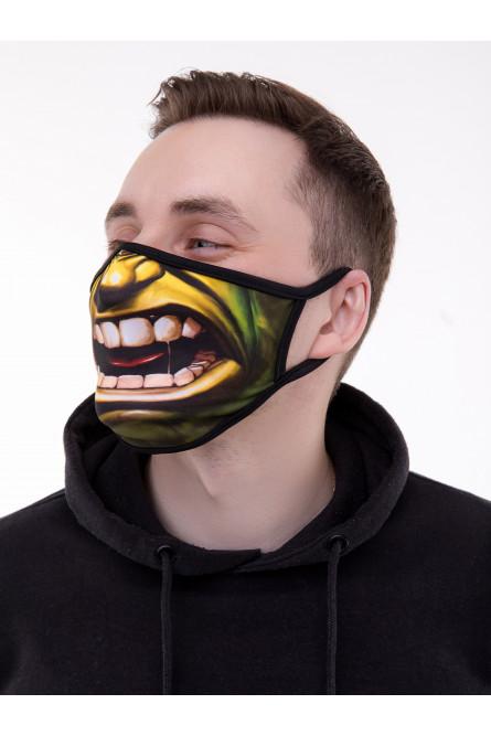 Защитная маска с принтом Халка