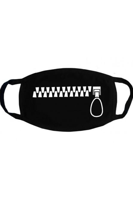 Черная защитная маска с принтом молнии, 3 шт.