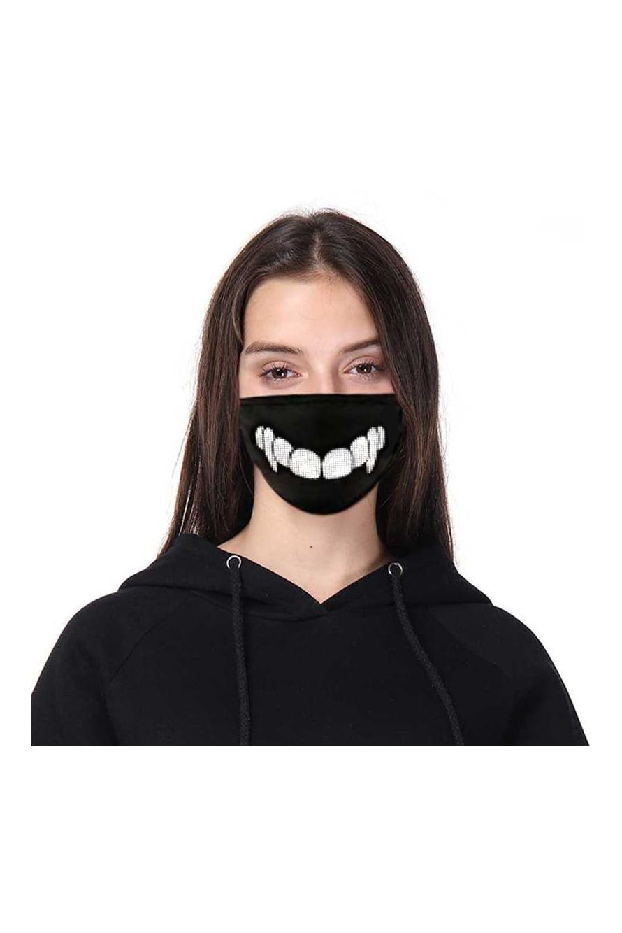 Белые маски с усами картинки