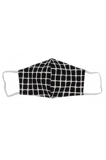 Защитная тканевая клетчатая маска