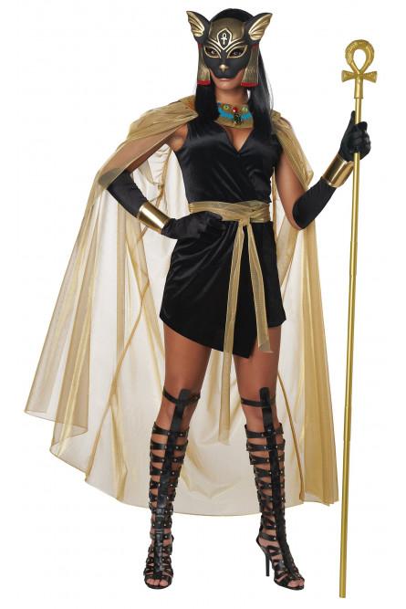 Костюм египетской богини Бастет