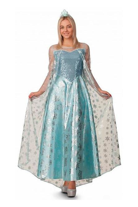 Взрослый костюм  королевы Эльзы