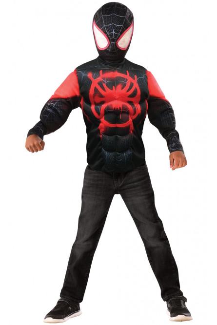 Детский набор черно-красного Спайдермена