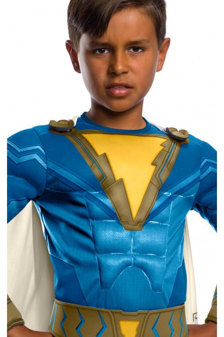 Детский костюм Шазама в синем