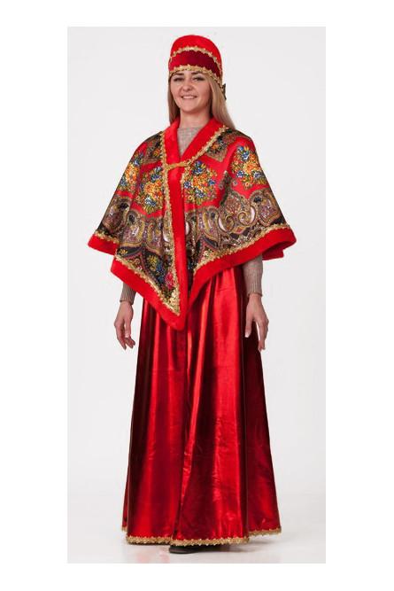 Взрослый костюм Красной Масленицы