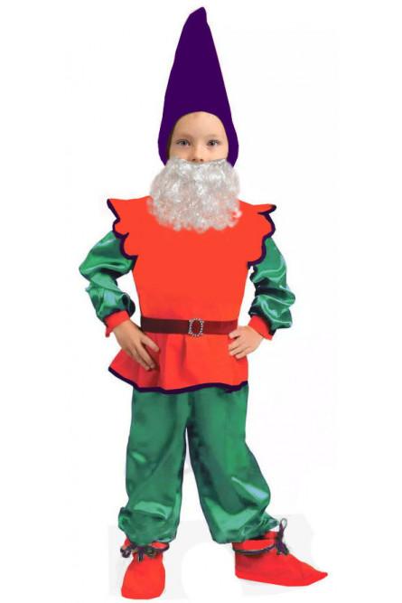 Детский костюм Гномика с бородой