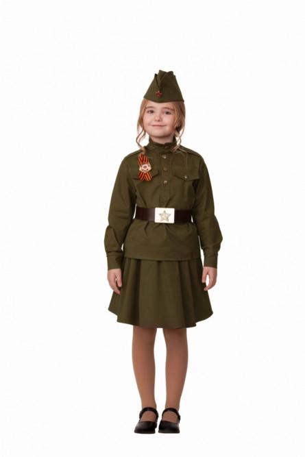 Детский костюм солдатки хлопковый