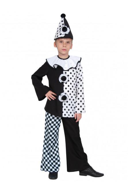 Детский костюм клоуна Пьеро