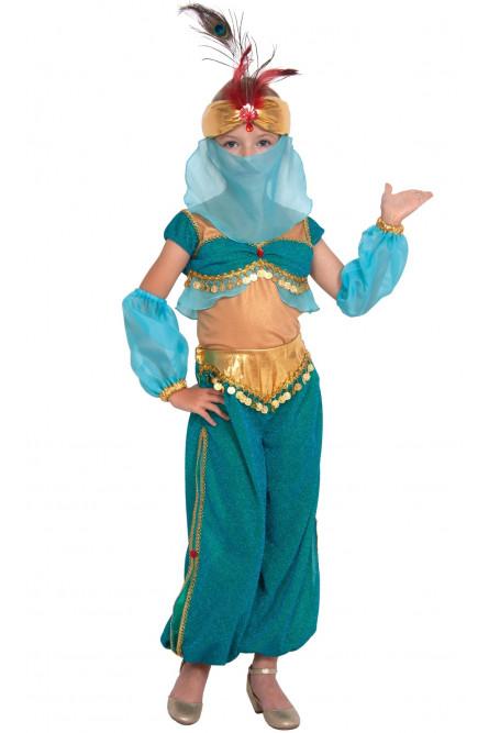 Детский бирюзовый костюм Шахерезады