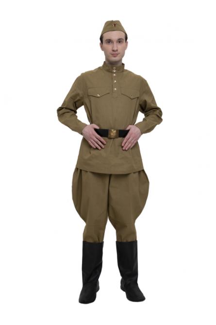 Взрослый военный костюм из диагонали