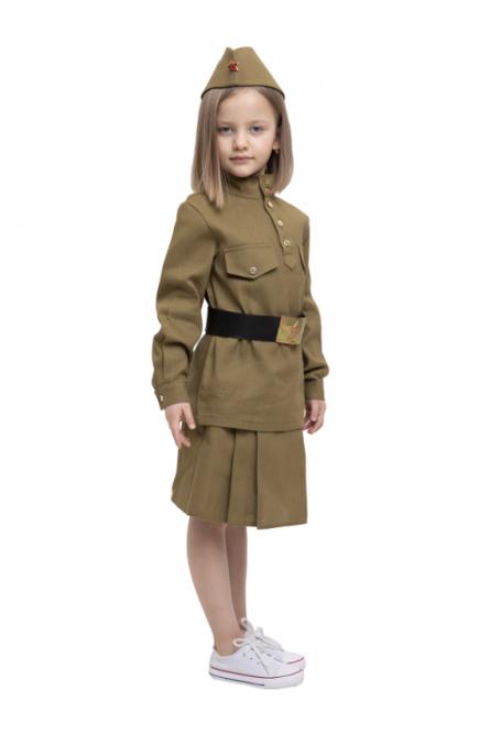 Детский военный костюм из хлопка