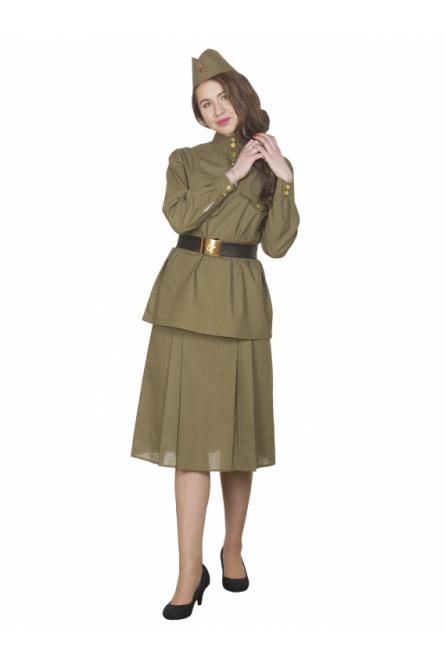 Взрослый военный костюм из хлопка