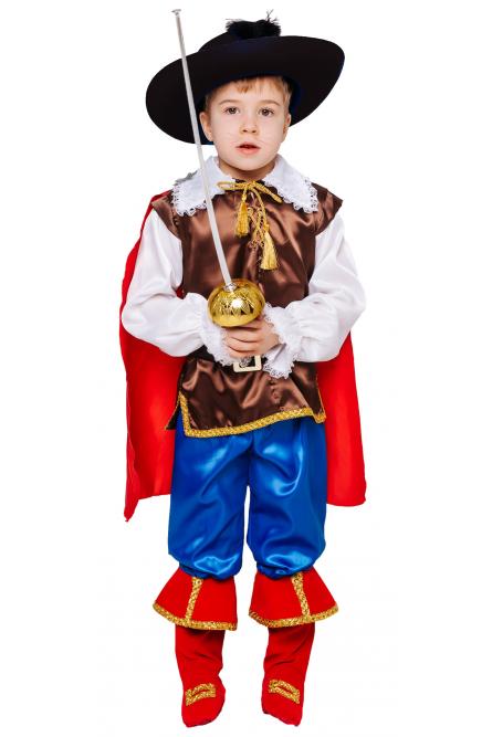 Детский костюм маленького Кота в сапогах