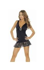 Клубное платье черное