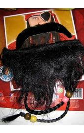 Усы и борода пирата
