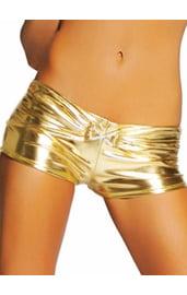 Шорты клубные золото