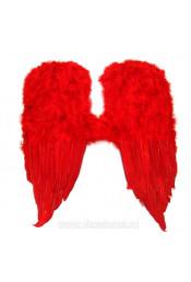 Крылья красные 80см