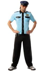 Костюм полицейского голубой