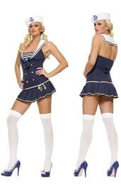 Костюм подружки моряка