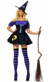 Костюм фиолетовой ведьмочки
