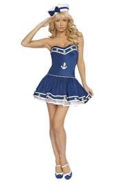 Костюм морячки синий