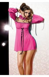 Розовое бюстье бэйбидолл