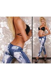 Леггинсы джинсовые