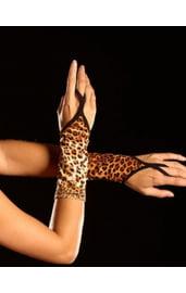 Перчатки леопардовые