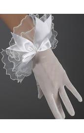 Перчатки с бантиком