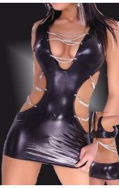 Клубное платье в готическом стиле