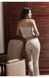 Пижама кружевная