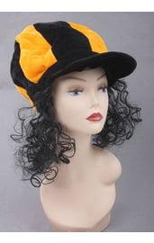 Гигантская шляпа с локонами