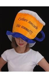Шляпа в форме кружки