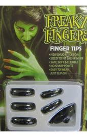 Ногти накладные черные
