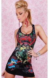 Платье с татуировкой