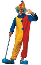 Костюм клоуна желто-красный