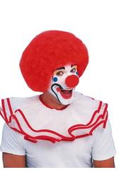 Парик клоуна красный