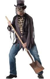 Костюм скелета маньяка